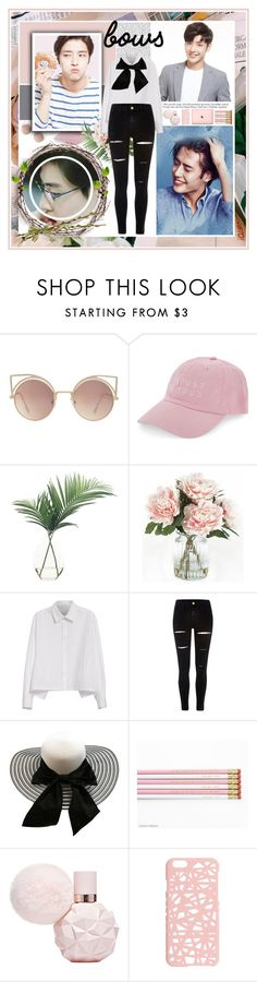 """Kang Ha Neul [ Actor ] [ Bows ]"" by julia-ngo ❤ liked on Polyvore featuring MANGO, Nasaseasons, NDI, Home Decorators Collection, Y's by Yohji Yamamoto, River Island and Miss Selfridge"