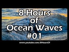 8 Hours of long relaxing ocean waves sounds crashing onto the shore for sleep, meditation, yoga and relaxation.    Please like, subscribe and comment if you enjoyed this video. It will really help me out a lot. :)    http://www.youtube.com/subscription_center?add_user=8hoursof