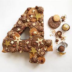 "556 Likes, 6 Comments - Frances Quinn (@frances_quinn) on Instagram: ""Another number, another chocolate and biscuit creation! Happy Birthday @crispydesigns via all your…"""
