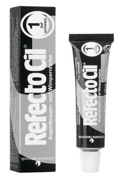 RefectoCil Cream Hair Dye (PURE BLACK) .5oz by RefectoCil. $14.50. Within ten minutes (development period) Refectocil produces permanent coverage and even coloration which lasts several weeks. The vivid coloration is light and water resistant. A complete line of tinting accessories renders the application of Refectocil professional, simple and very profitable. Refectocil is the perfect choice for dyeing beards, sideburns and even intimate hair!