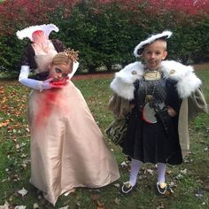 These kids as Henry VIII and Anne Boleyn.