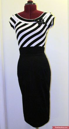 gertie pencil skirt front
