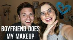 Boyfriend Does My Makeup TAG - ErinTheInsomniac