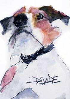 Valerie Davide dog Bruno