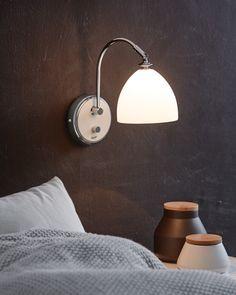 Herstal Lights - Spirit - Vägglampa Home And Garden, Garden Tips, Sconces, Wall Lights, Spirit, Inspiration, Design, Home Decor, Corning Glass
