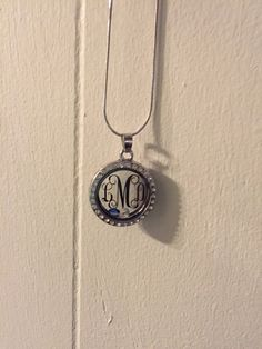 A personal favorite from my Etsy shop https://www.etsy.com/listing/233353832/monogrammed-silver-and-rhinestone