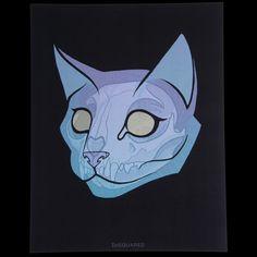 Image of BLUE CAT PRINT