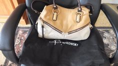 b makowsky handbag #BMakowsky #Satchel