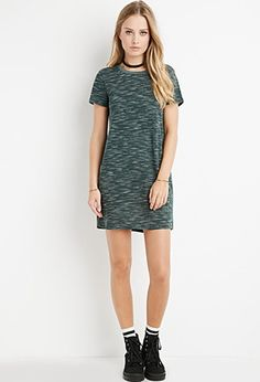 Space Dye T-Shirt Dress | Forever 21 - 2000141762