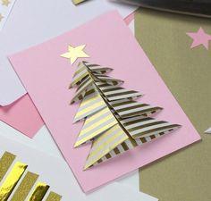 Weihnachtskarten selbst basteln - Anleitung. Auf folgende Seite finden Sie eine schöne Idee für Weihnachtskarten. Sieht kreative und wunderschöne aus.