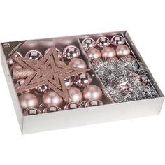 Vianočný ozdobný set Luxury Pink