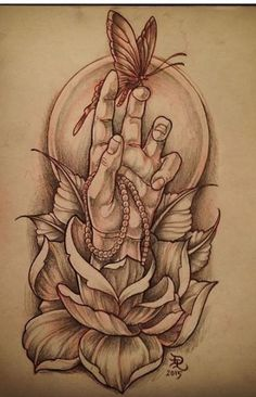 Ideas for Tattoo Traditional Hand Neo Rose Tattoos, Flower Tattoos, Body Art Tattoos, Sleeve Tattoos, Hand Tattoos, Tattoo Sketches, Tattoo Drawings, Drawing Sketches, Graffiti Tattoo