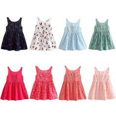 Dresses Summer Explosion Sleeveless 3d Rainbow Print Teen Toddler Kid Girl Summer Sleeveless 3d Print Cartoon Dresses Casual Clothes F4 Big Clearance Sale