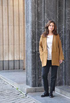 patron de couture manteau Marumi