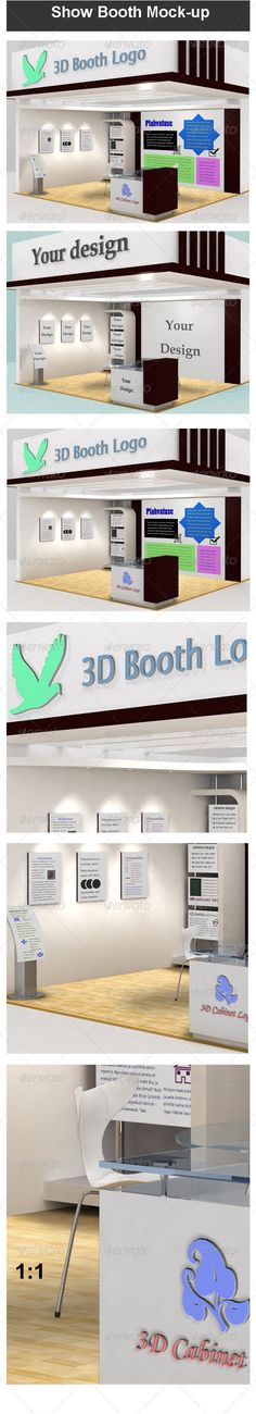 Exhibition Booth Mock Up : Images about graphics on pinterest mockup