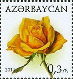 Sello: Rose (Azerbaiyán) (Roses) Mi:AZ 1056A