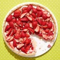 tart with coconut oat crust shape com more sunflower tart strawberry ...