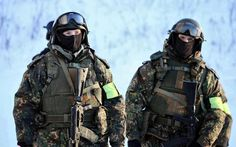 Russian Interior Ministry (MVD) soldiers.
