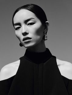 Fei Fei Sun By Ben Toms For Vogue China January 2017 Transparencies