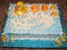 Rubber Ducky Cake   All Bc With New Rubber Ducky Toys.