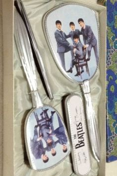 Beatles brush and mirror set - from England