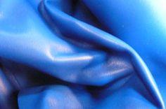 Softest Italian Lambskin Lamb Leather Blue 67 by FromLeatherToLace, $56.00
