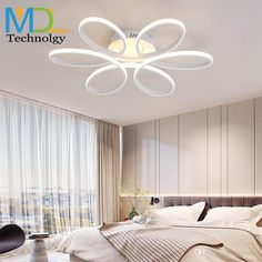 Modern Creative Led Ceiling Lamp Living Room Bedroom Ring Crystal Indoor Led Shine Dimming Ceiling Light Fixtures Ac110-240v Ceiling Lights & Fans