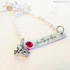 Write name on Crown Necklace