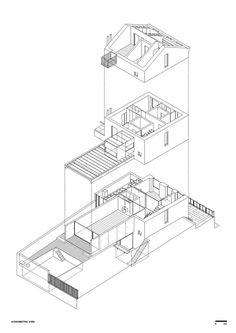 Robalo Cordeiro House,Diagram