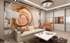 Дизайн проект и планировка квартиры в ЖК Крылатский