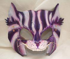 Cheshire cat mask.