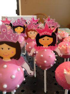 princess cakepops
