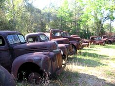 Old trucks' if we had the $$ I'd have a hangar full of vintage vehicles.   We're at 6 now and I still want more.