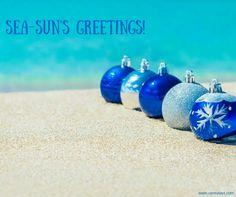 Tropical Christmas, Beach Christmas, Christmas Bulbs, Beach Quotes, Cover Photos, Holiday Decor, Words, Beach Stuff, Celebrations