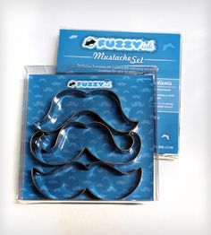 Mustache Cookie Cutter Set...ha ha haaaaa