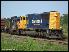 Paul and Phil uncouple Resolute's ex-ONR GP9 1600 from the mill's southbound paper loads at Welsh (the junction between Iroquois Falls and Devonshire Subdivisions) August 8th. 1600 will be heading north to Cochrane and continue to Hearst from there as it makes it's way to Diesel Electric Services in Sudbury.