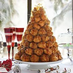 alternatives to wedding cake croquembouche