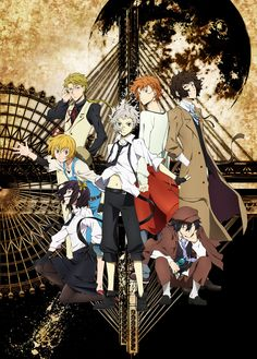 Bungo Stray Dogs - Unconfident loner Atsushi Nakajima joins the Armed Detective Agency, a group of operatives who fight Port Mafia with their supernatural abilities. Watch Free Anime, Anime Watch, 5 Anime, Anime Shows, Anime Dvd, Anime Meme, Bungou Stray Dogs Wallpaper, Dog Wallpaper, Stray Dogs Anime