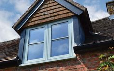 Designed to create a stunning focal point and featuring traditional aesthetics, the flush casement window are ideal for homes replacing timber windows. Sash Windows, House Windows, Windows And Doors, Timber Windows, Casement Windows, Georgian Homes, Modern Country, Architecture Details, Evolution