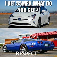 Respect  #Corvette #Meme