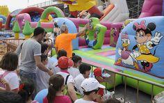 Los niños disfrutaron con las diversas actividades programadas para la 8ª Fiesta Escolar Sácale Partido al Cole