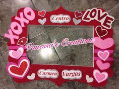 Valentines Photo Booth Frame Valentine Day Photo Frame, Valentines Photo Booth, Valentines Frames, Valentines Day Pictures, Valentines Day Party, Diy Valentine's Photo Props, Photo Booth Picture Frames, Party Photo Frame, Picture Frame Crafts