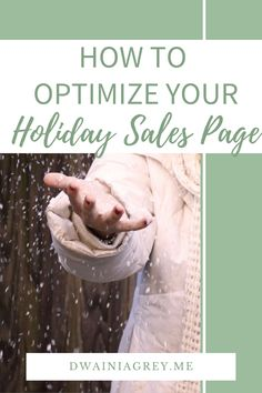 A good sales page can make the difference between lacklustre earnings and a healthy dose of holiday sales. It's important that you take your time with this step and don't rush it. #salesfunnels #holidaysales #blackfriday #cybermonday #holidayplanner Email Marketing, Affiliate Marketing, Social Media Marketing, Digital Marketing, Money Making Websites, Holiday Planner, Blogger Tips, Holiday Sales, Business Website