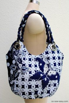 anti pickpocket bag Free pattern and Tutorial