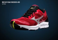 Mizuno Mens Spark Athlectic Running Shoes Sneakers MZ-K1GA160303-00 #Mizuno #AthleticSneakers