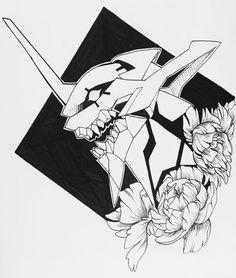 29 by sashark on DeviantArt Neon Genesis Evangelion, Manga Girl, Manga Anime, Anime Art, Anime Girls, Anime Tatoo, Evangelion Tattoo, Arte Black, Manga Illustration