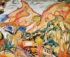 Othon FRIESZ | Le Bec de L'Aigle, 1907