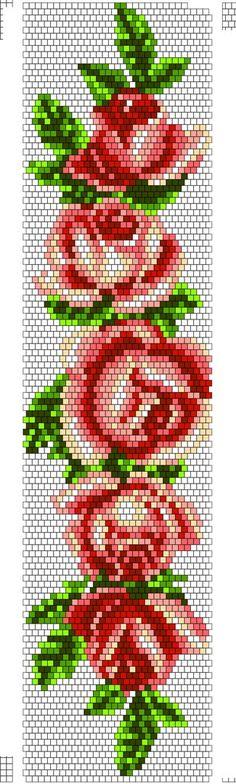 flores rosa template, diseño, molde, plantilla, abalorios, calor, hamma, hama, perler, beads, patterns, patron, diy, hecho en casa, hazlo tu mismo, niños, manualidad, crafts, actividad, vacaciones, muristar.com, animado, animate, tutorial,