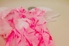New clothes with bright colors sometimes bleed fabric dye when they're first washed. When this occurs, other clothing ends up with dye transfer stains which can be difficult to remove. Rather than working to remove a dye transfer stain, you can be proactive and prevent the fabric dye from bleeding in the first place. Home remedies help you to...