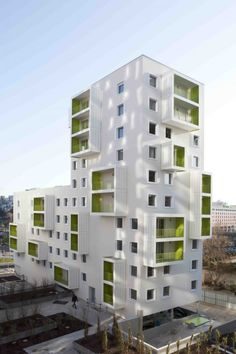 Housing project in Evry, France by Beckmann N'Thepe Architects